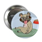 "Pug 2.25"" Button (10 pack)"