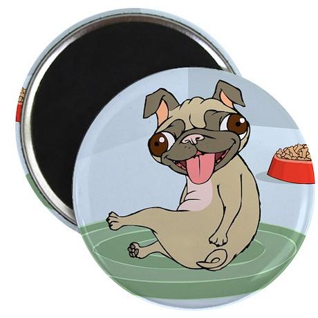 """Pug 2.25"""" Magnet (10 pack)"""