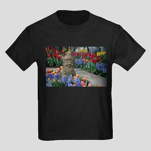 garden gnome Kids Dark T-Shirt