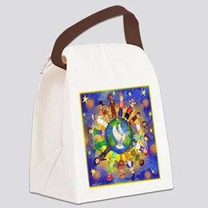 World Children Peace Canvas Lunch Bag