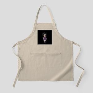 Dolly girl in purple Light Apron