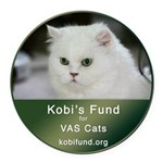 Kobi Fund Stamp  file Round Car Magnet