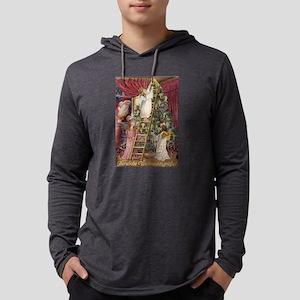 Vintage German Angels Merry Ch Long Sleeve T-Shirt