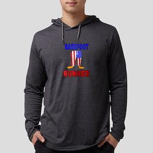 Barefoot Runner Long Sleeve T-Shirt