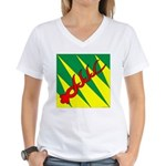 Outlands War Ensign Women's V-Neck T-Shirt