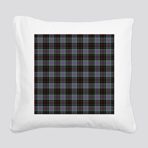 Tartan - Brodie hunting Square Canvas Pillow