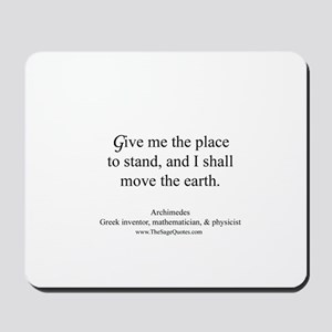 Place to Stand Mousepad