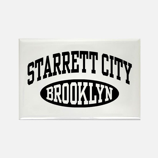 Starrett City Brooklyn Rectangle Magnet