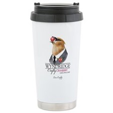 Crafty Cranberry Cider Stainless Steel Travel Mug