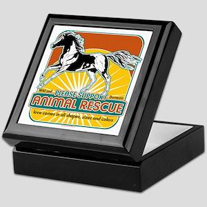 Animal Rescue Horse Keepsake Box