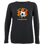 Home Plus Size Long Sleeve Tee T-Shirt