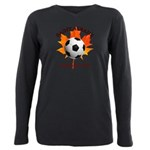 Away Plus Size Long Sleeve Tee T-Shirt