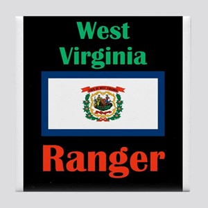 Ranger West Virginia Tile Coaster