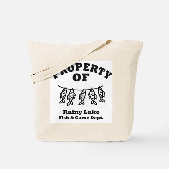 Property of Fish & Game Tote Bag