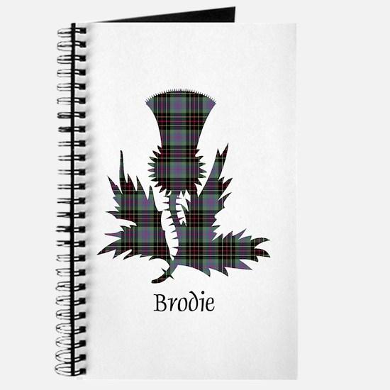 Thistle - Brodie hunting Journal