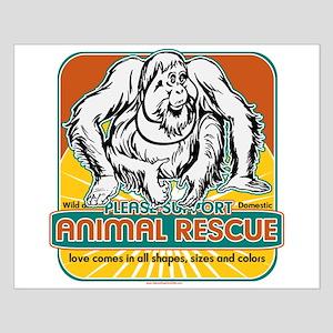 Animal Rescue Orangutan Small Poster