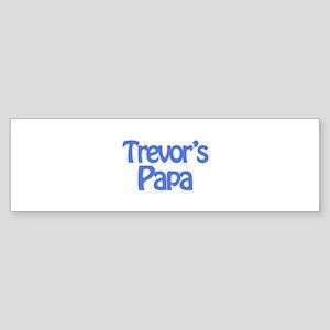 Trevor's Papa Bumper Sticker