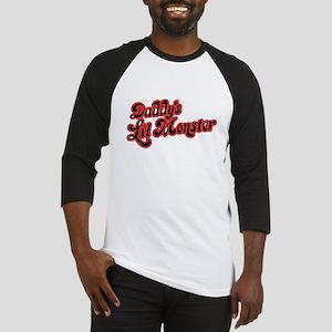 Inspiration Text - Daddy's Lit Baseball Jersey