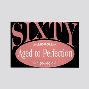 50th aged to perfection Rectangle Magnet