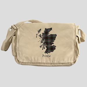 Map - Brodie hunting Messenger Bag