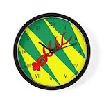 Outlands War Ensign Wall Clock