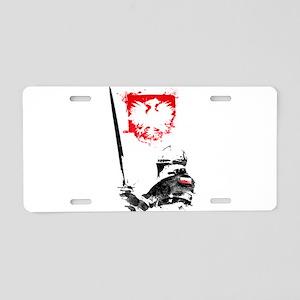 Polish Hussar Aluminum License Plate