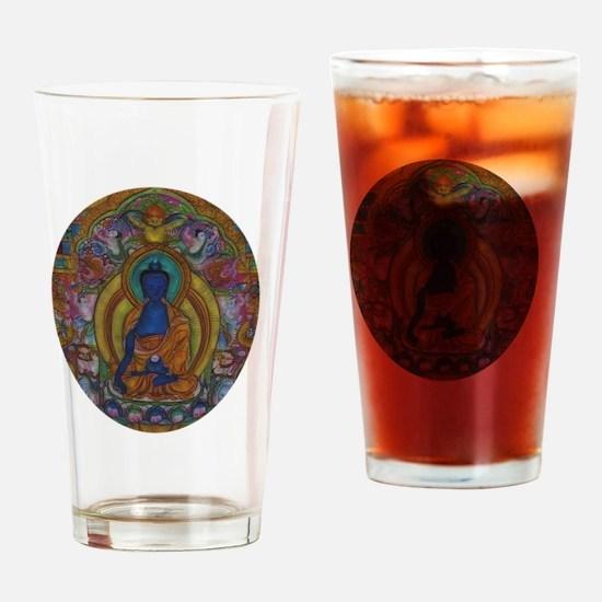 Cool Buddhism Drinking Glass