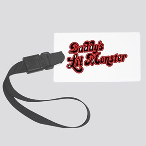 Inspiration Text - Daddy's L Large Luggage Tag