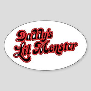 Inspiration Text - Daddy's Little Mons Sticker