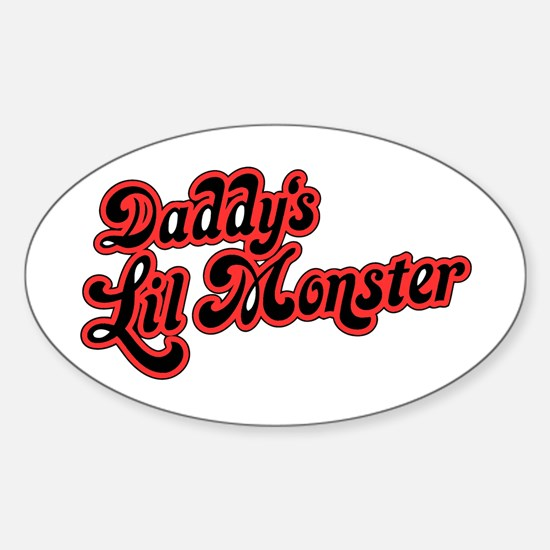 Inspiration Text - Daddy's Little Mons Stickers
