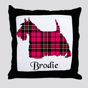 Terrier - Brodie Throw Pillow
