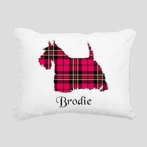 Terrier - Brodie Rectangular Canvas Pillow