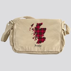 Map - Brodie Messenger Bag
