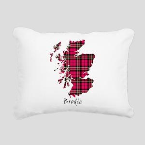 Map - Brodie Rectangular Canvas Pillow