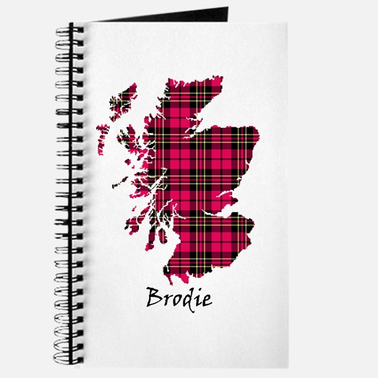 Map - Brodie Journal