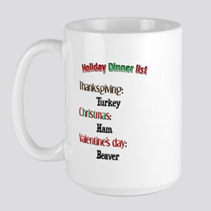 What's Hot Today? Large Mug