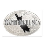 Shippy Rodeo Bulls Postcards (Package of 8)