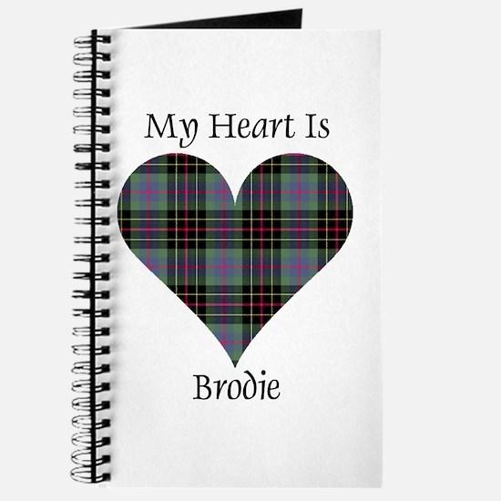 Heart - Brodie hunting Journal