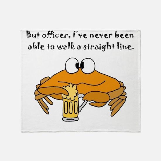 Unique Crab Throw Blanket