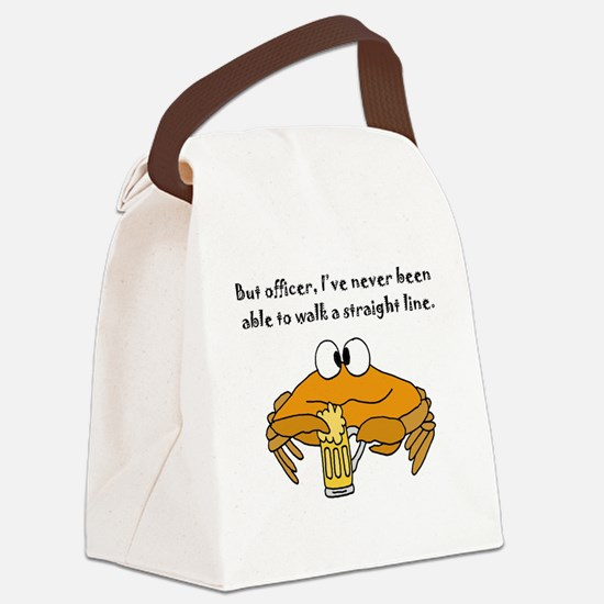 Funny Drinking Canvas Lunch Bag