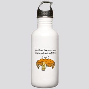 Beer Drinking Crab Stainless Water Bottle 1.0L