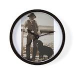 Shippy Rodeo Bulls Wall Clock