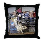 Shippy Rodeo Bulls Throw Pillow