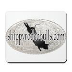 Shippy Rodeo Bulls Mousepad