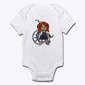 Broken Rt Arm Infant Bodysuit