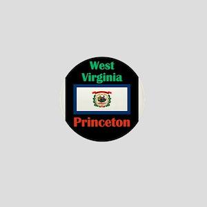 Princeton West Virginia Mini Button