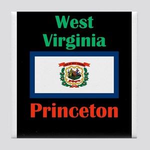 Princeton West Virginia Tile Coaster