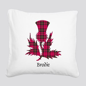 Thistle - Brodie Square Canvas Pillow