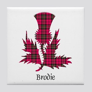 Thistle - Brodie Tile Coaster