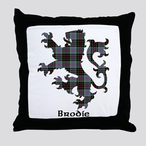 Lion - Brodie hunting Throw Pillow